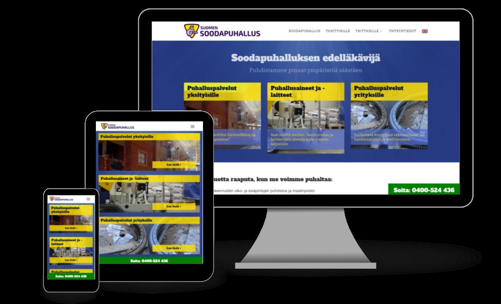 kotisivut Sivusepältä - Suomen Soodapuhallus